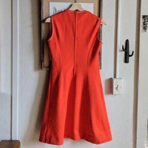 Vintage Dresses - Vintage 60's Butte Knit hot orange poly dress 🧡